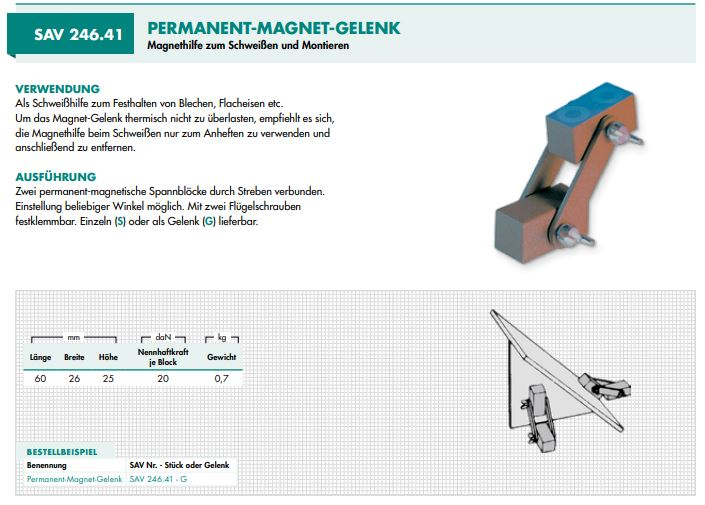 Permanent-Magnet-Gelenk
